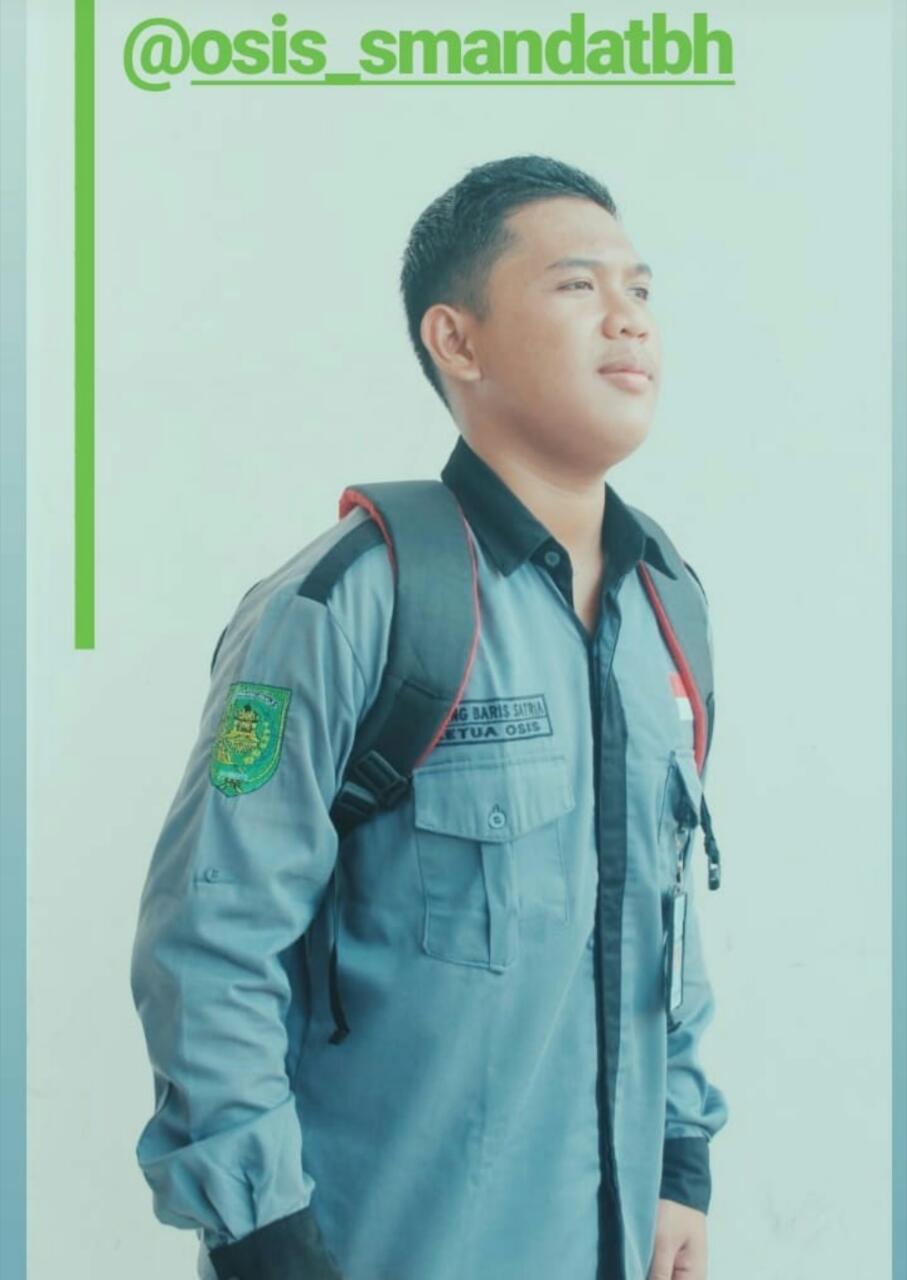 PROFIL : GALANG BARIS SATRIA, KETUA OSIS SMAN 2 TEMBILAHAN 2018-2019
