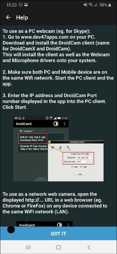 3 Langkah Mengubah Android Jadi Webcam PC